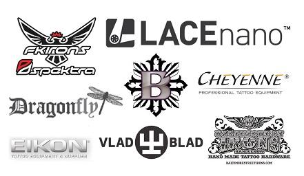 Dövme Makine Markaları Logoları Resim