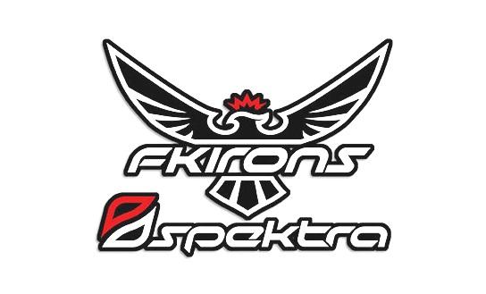 FK Irons Bobinli Dövme Makinesi Logo